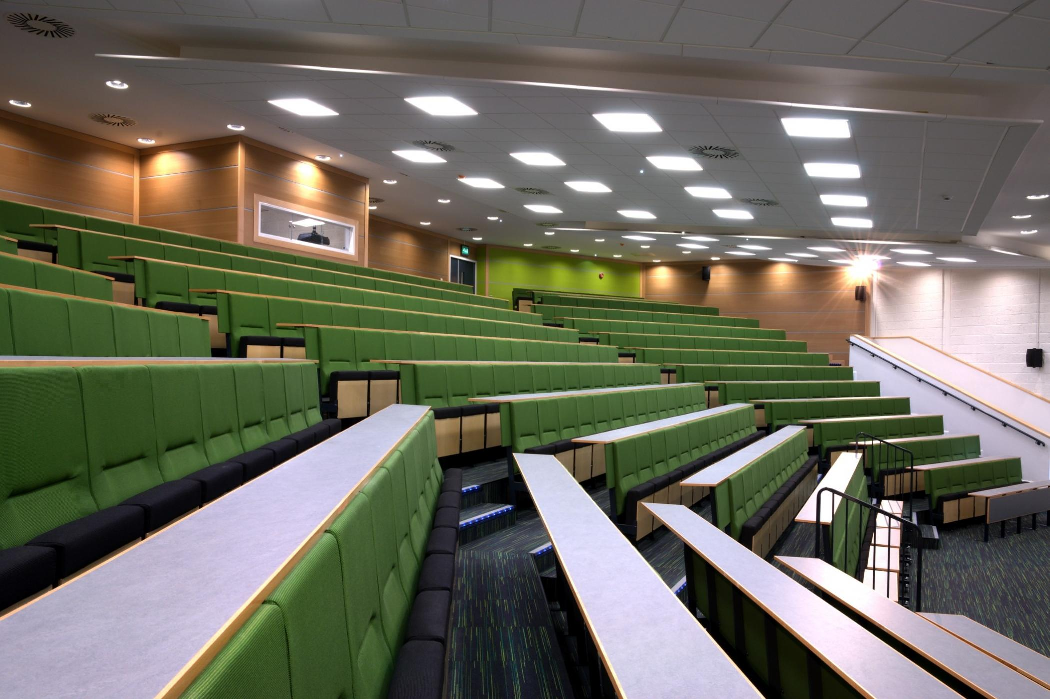 Newcastle University Lecture Theatres Howarth Litchfield