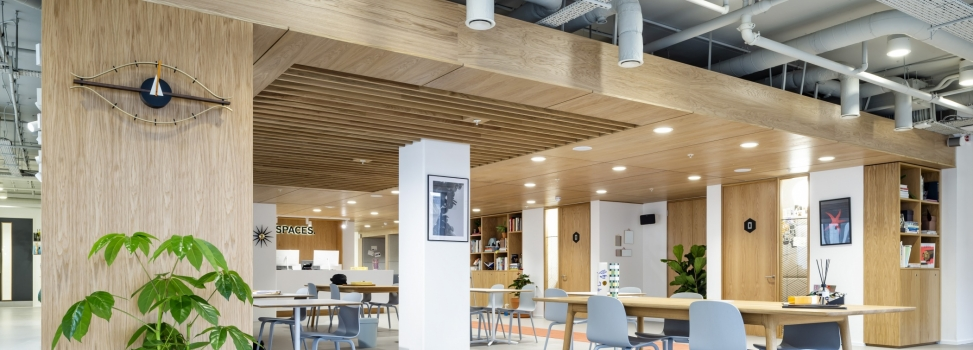 HL's Successful Delivery of Flexible Office Interiors