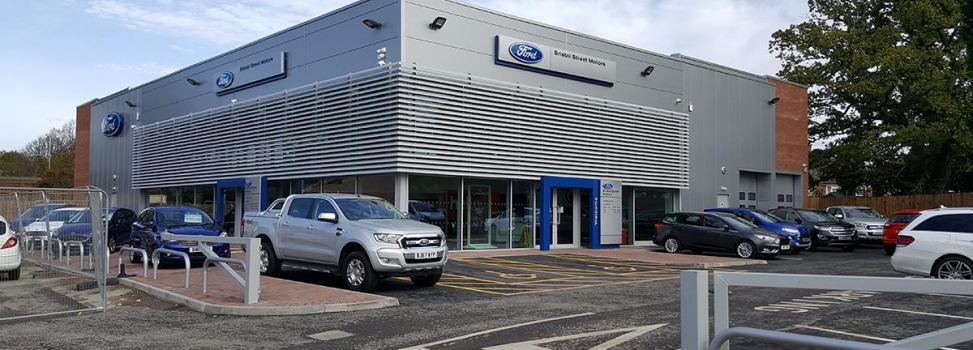 New Ford Car Showroom for Vertu