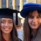 Graduation of Hannah Angus and Dr Agnes Wir-Konas