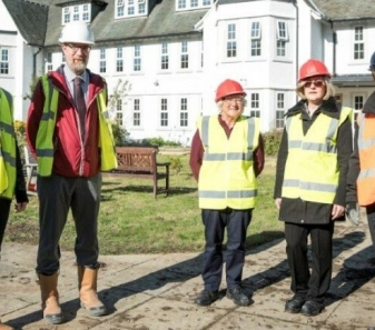 Innovative Centre to Promote Independent Living Progressing Well