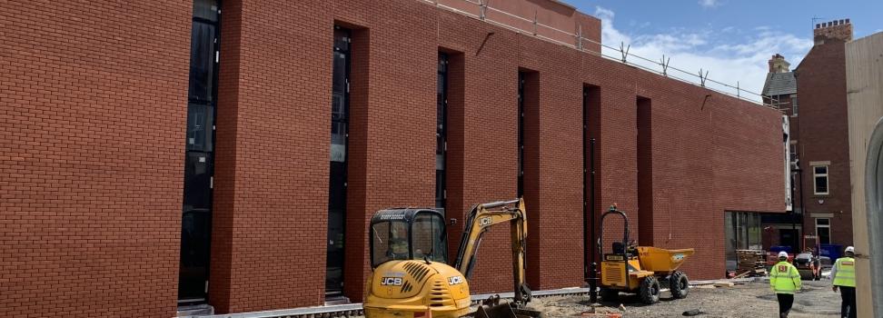Progress Update at the Sunderland Music, Arts and Cultural Quarter (MACQ)