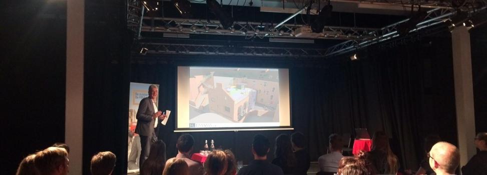 Jonathan Yates Presents at the RIBA Unbuilt North East Event