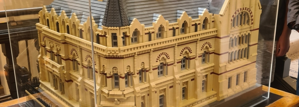 Neville Hall – Works Complete in Lego!