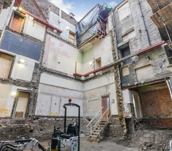 Neville Hall Mining Institute Works Progress