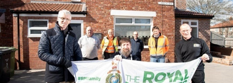 Former Royal Marine wounded in Afghanistan finally gets 'forever home' in South Shields thanks to amazing project