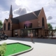 Buzzing Modern Development Plans for Historic Washington Church