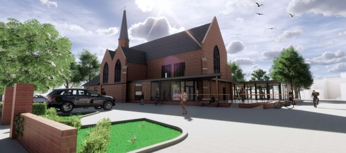 Plans Approved for New Community Facilities at St George's Church in Washington