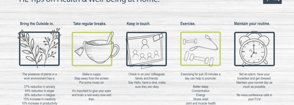 Health & Well-being from Home